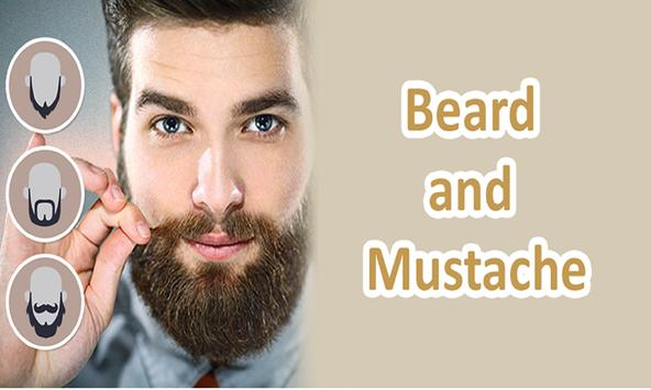 Beard Photo Mustache Editor - Real Men Hair Style poster