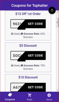 Coupons for Tophatter - Shopping Deals poster