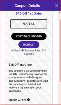 Coupons for Tophatter - Shopping Deals screenshot 2