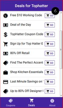 Coupons for Tophatter - Shopping Deals screenshot 3