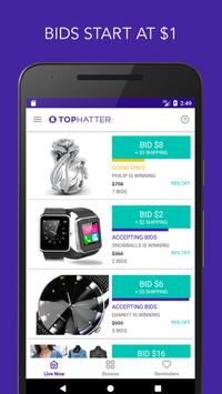 Tophatter - Shopping Deals poster
