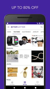 Tophatter - Shopping Deals apk screenshot