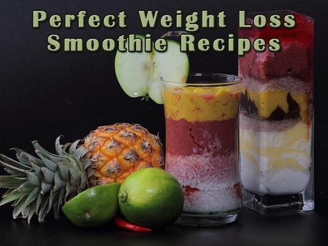 Perfect Weight loss & healthy smoothie recipes apk screenshot