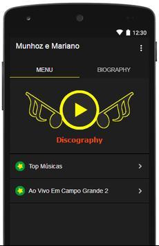 Munhoz e Mariano Letras de Músicas poster