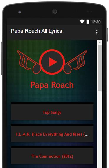 Sirk portal: papa roach f. E. A. R. (face everything and rise) (2015).