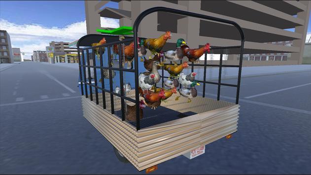 PK Chicken Cargo Transport apk screenshot