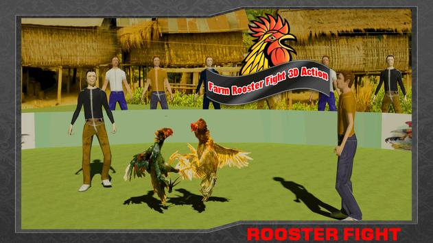 Farm Deadly Rooster Fighting poster