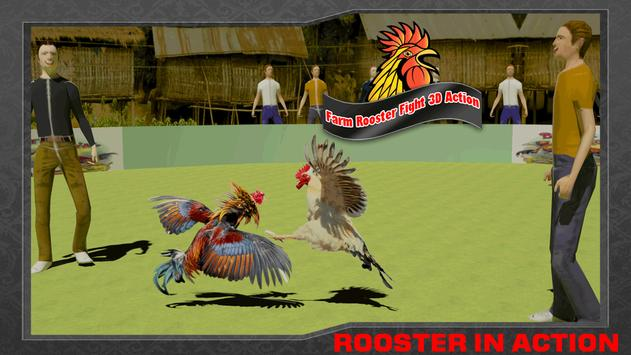 Farm Deadly Rooster Fighting apk screenshot
