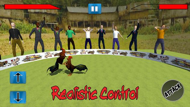 Farm Rooster Fight 3D Action apk screenshot
