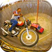 Well Of Death Car Stunt Rider icon