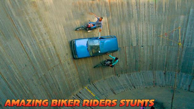 Well Of Death Car Stunt Rider poster