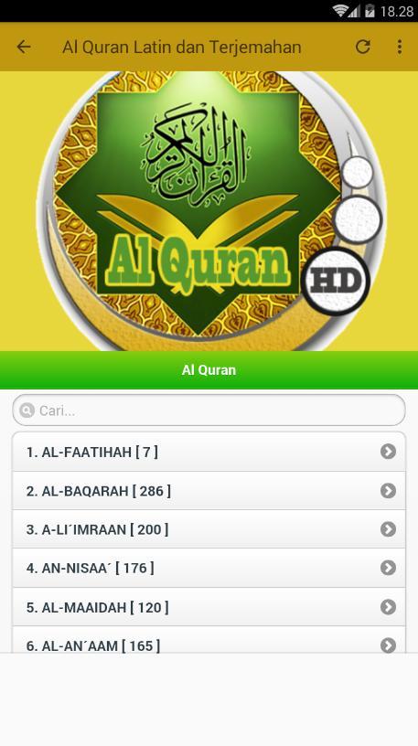 Surat al-kafirun,al-kausar,al-ma'un,quraisy,al-fil +arab latin dan.