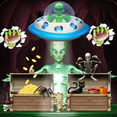 Supermarket Manager Alien icon