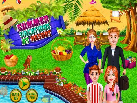 Summer Vacations at  Resort poster