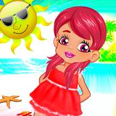 Baby Girl Summer Party Fun icon