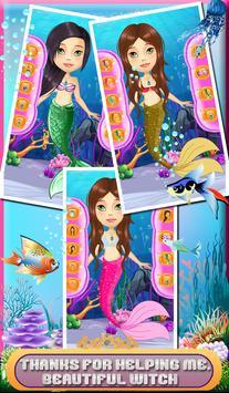 Ocean Mermaid Salon & dressup apk screenshot