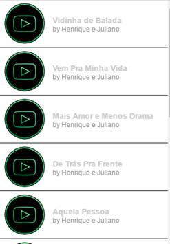 Henrique e Juliano - VIDINHA DE BALADA apk screenshot
