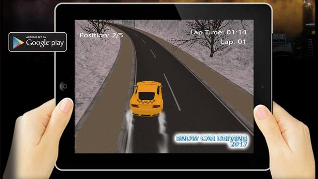 Snow Car Driving 2017 poster