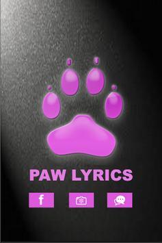 Baby K - Paw Lyrics poster