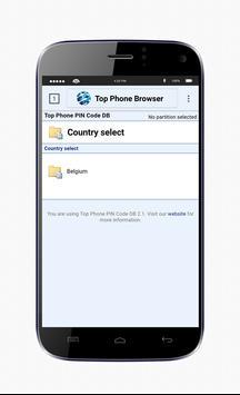 TopPhoneBrowser apk screenshot