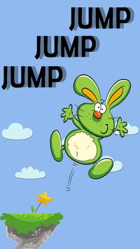 Rabbit Bunny Jumping Game poster