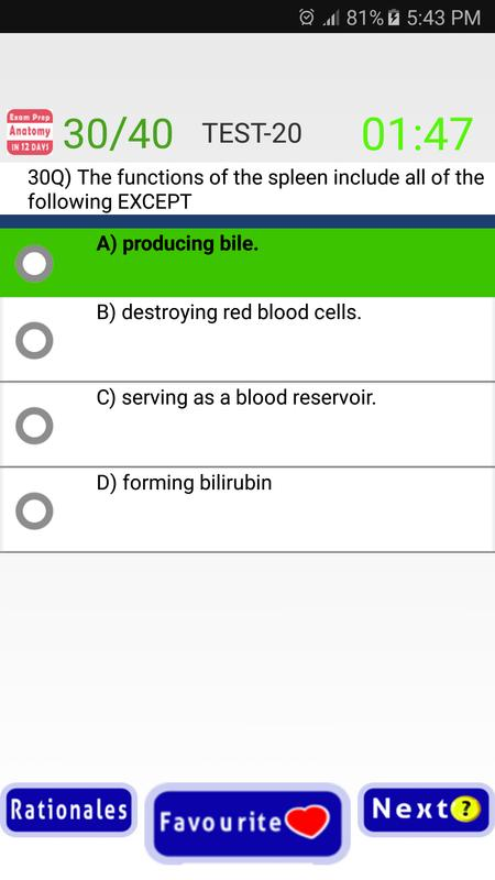 Anatomy Exam Prep In 12 Days For Android Apk Download