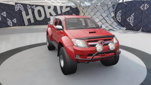 4x4 OffRoad Hilux Truck driving Extreme Games poster