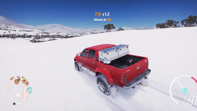 4x4 OffRoad Hilux Truck driving Extreme Games screenshot 2