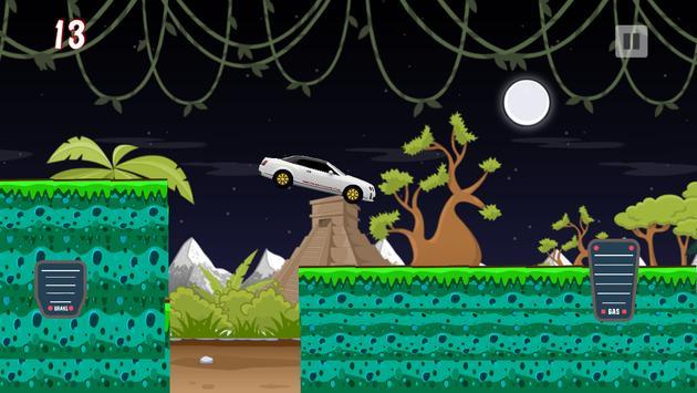 Traffic Car Hill Climb screenshot 2