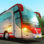 Game android New Bus mania Indonesia Simulator 3D APK