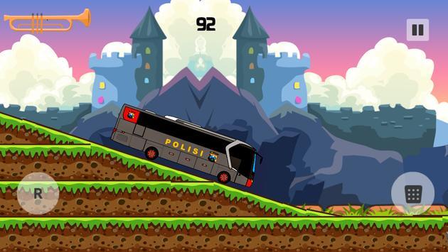 Police Bus Hill Climbing Simulator 2017 apk screenshot