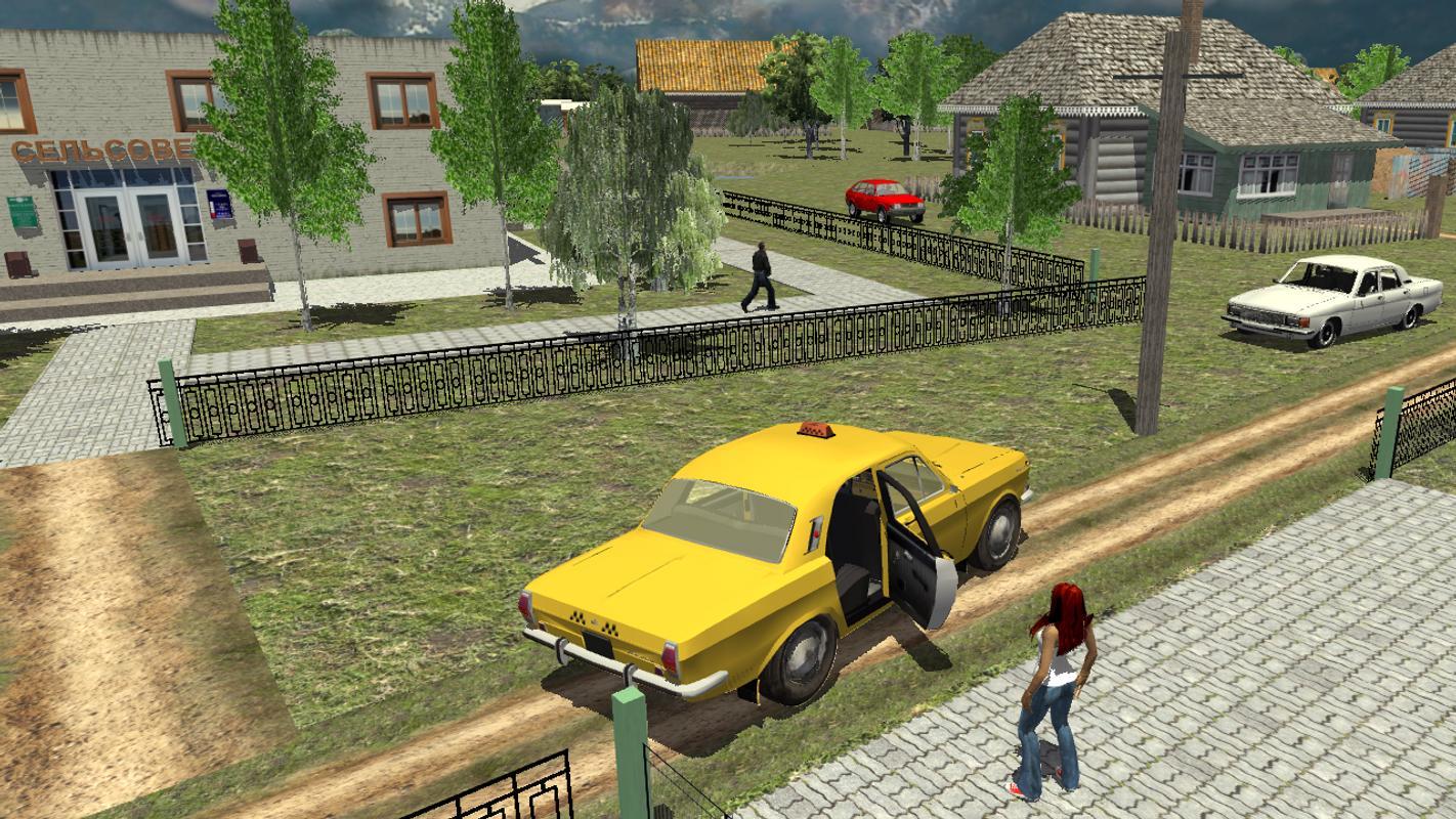 criminal car driver 3d