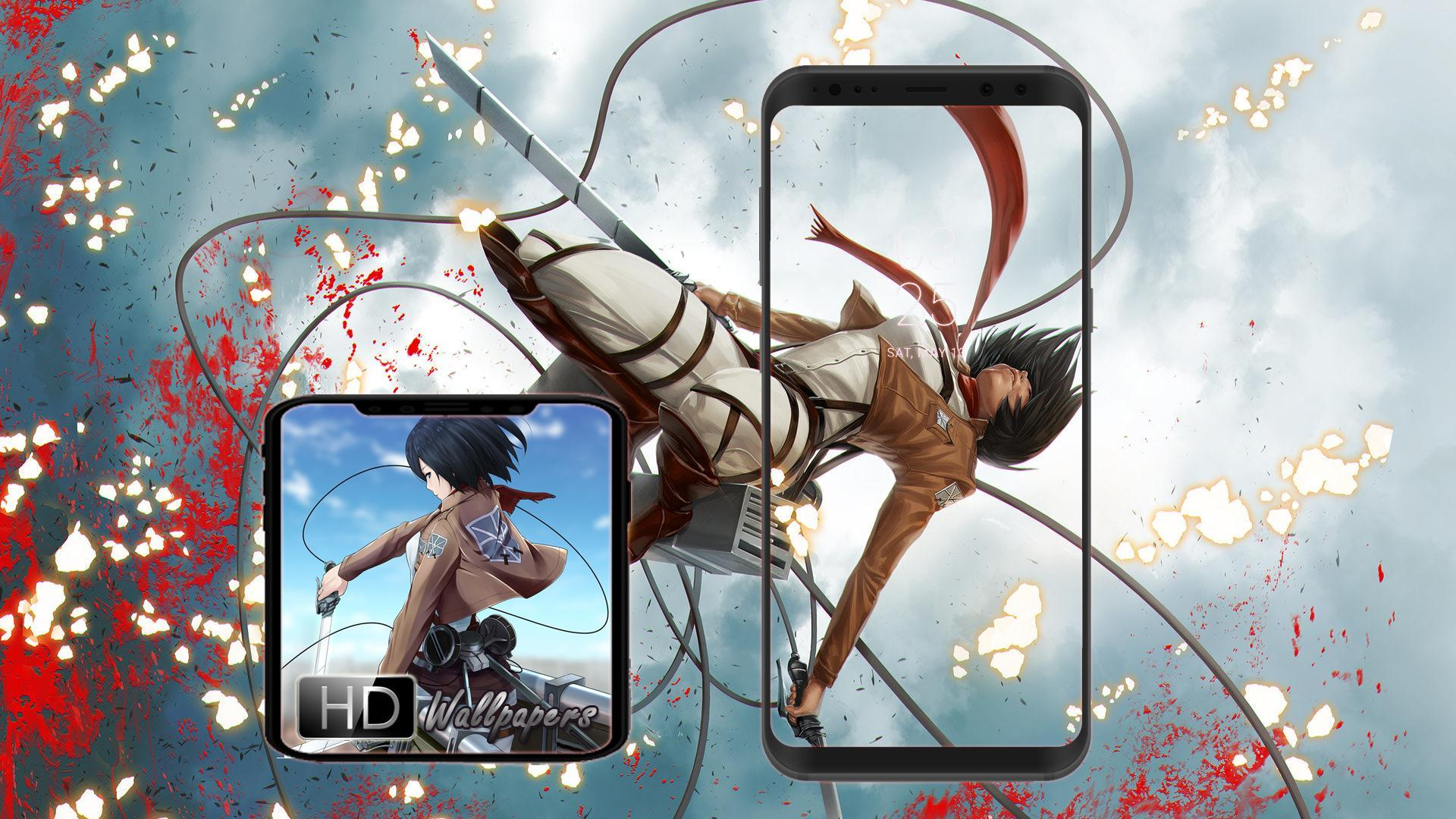 Anime Attack On Titan Hd Wallpapers For Android Apk Download