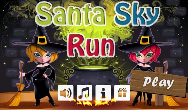 Santa Sky Run poster