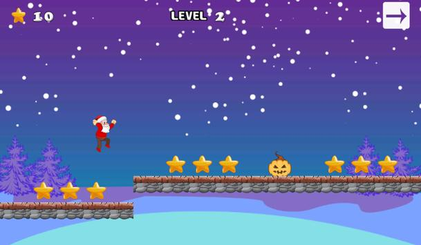 Santa Sky Run apk screenshot