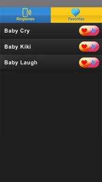 Cute Baby Ringtones apk screenshot