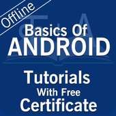 Free Android Tutorial in Hindi icon