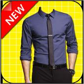 Men Pro Shirt Photo Suit icon