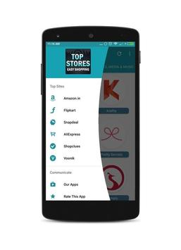 All Top Stores Easy Online Shopping India App poster