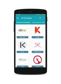 All Top Stores Easy Online Shopping India App apk screenshot