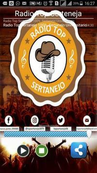 Radio Top Sertanejo poster