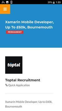 IT Jobs by Toptal UK screenshot 3
