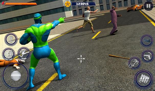 New Superhero City Fighter Home Coming screenshot 11