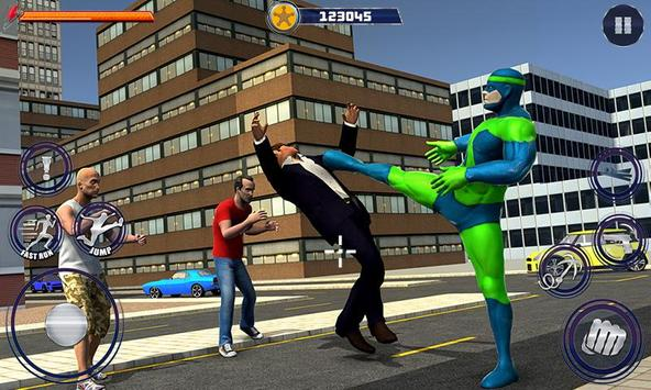 New Superhero City Fighter Home Coming screenshot 1