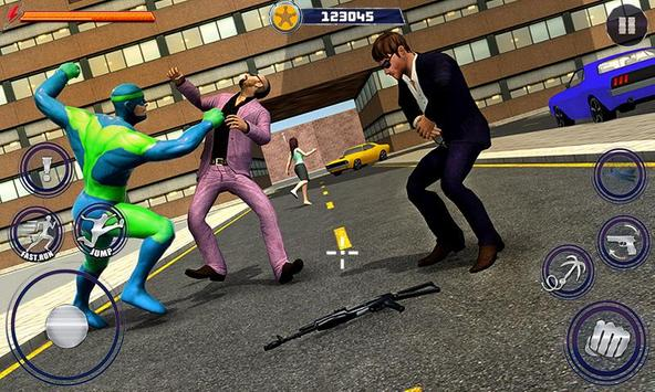 New Superhero City Fighter Home Coming screenshot 2