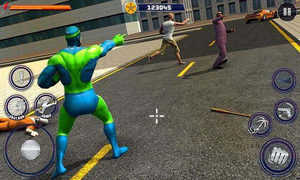 New Superhero City Fighter Home Coming screenshot 3