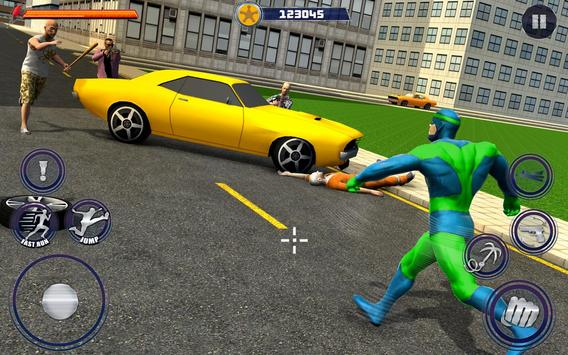 New Superhero City Fighter Home Coming screenshot 4