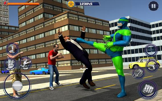 New Superhero City Fighter Home Coming screenshot 5