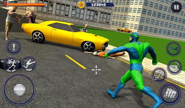 New Superhero City Fighter Home Coming screenshot 8