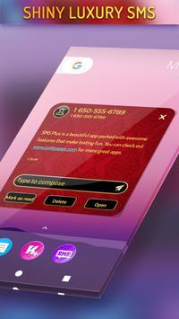Shiny Luxury SMS apk screenshot